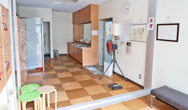 那須塩原温泉白州フォッサマグナの湯 更衣室