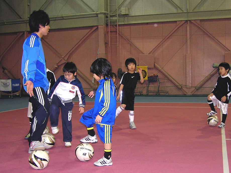 SWING89のサッカースクール