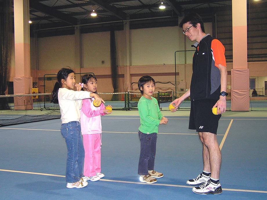 SWING89のテニススクール