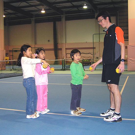 スウィング89のジュニアテニススクール