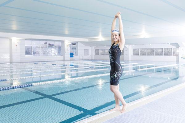 朝活にプール、その前に準備体操