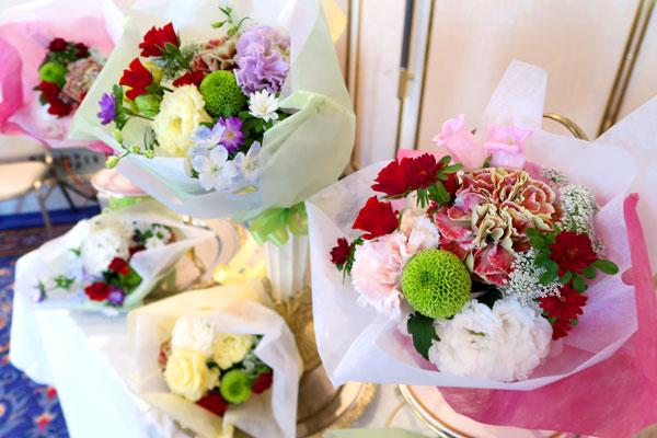 ご家族の方へ送る花束