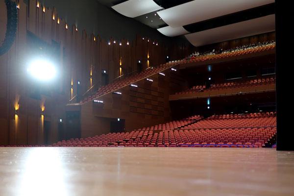ダンス発表会会場の埼玉県ウェスタ川越