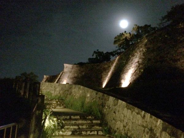 首里城公園の夜
