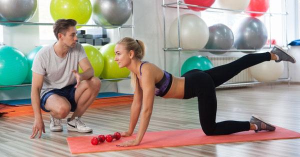 腰に負担の少ない体幹トレーニング