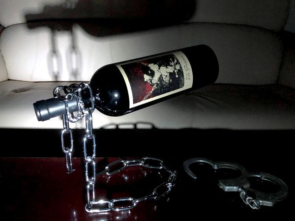 プリズナーワインは虜にする魅力という意味も。
